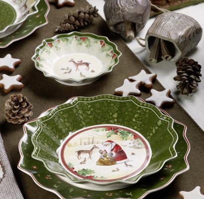 Villeroy and Boch, dekoracje świąteczne, salon porcelany 1