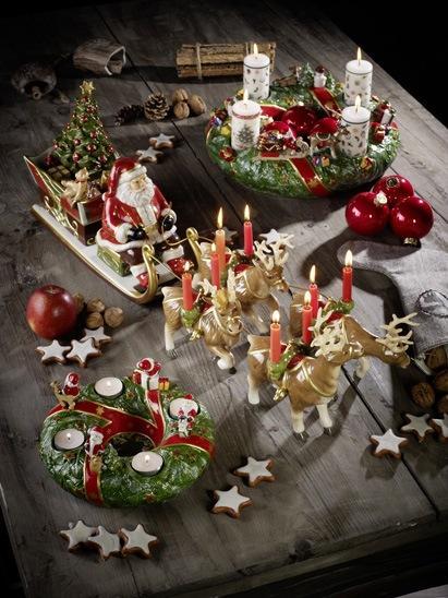 Villeroy and Boch, dekoracje świąteczne, salon porcelany 4