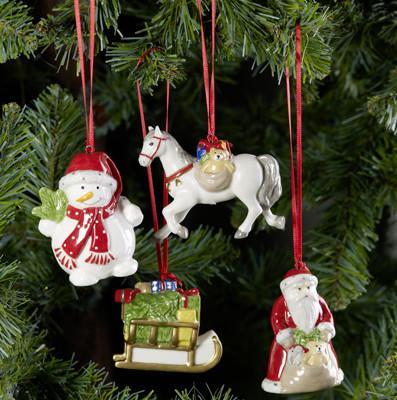 Villeroy and Boch, dekoracje świąteczne, salon porcelany 7