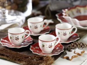 Villeroy and Boch,  dekoracje świąteczne, salon porcelany 8