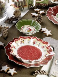 Villeroy and Boch,  dekoracje świąteczne, salon porcelany 9