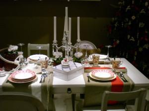Villeroy and Boch,  dekoracje świąteczne, salon porcelany 11