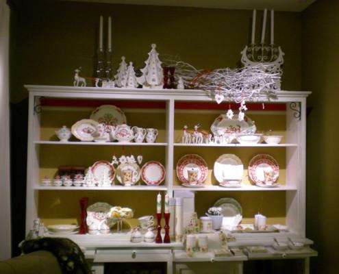 Villeroy and Boch, dekoracje świąteczne, salon porcelany 20