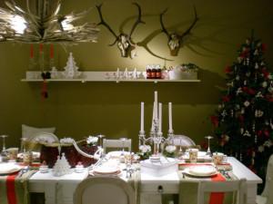Villeroy and Boch,  dekoracje świąteczne, salon porcelany 21