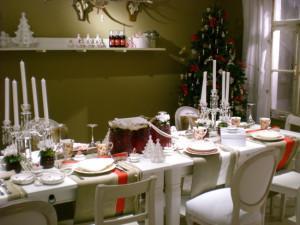 Villeroy and Boch, dekoracje świąteczne,  salon porcelany 24