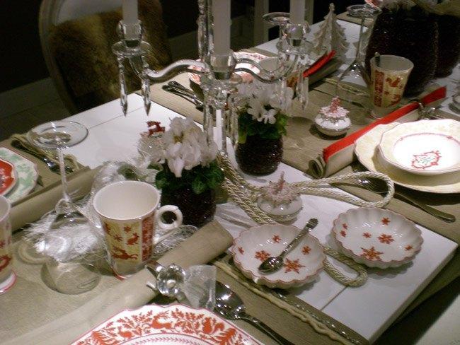 Villeroy and Boch, dekoracje świąteczne, salon porcelany 25