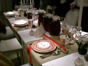 Villeroy and Boch,  dekoracje świąteczne, salon porcelany 26