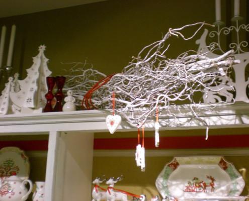 Villeroy and Boch, dekoracje świąteczne, salon porcelany 27