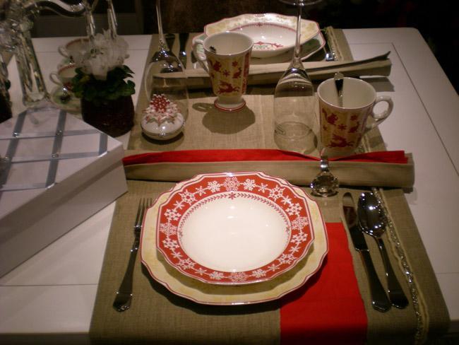 Villeroy and Boch, dekoracje świąteczne, salon porcelany 12