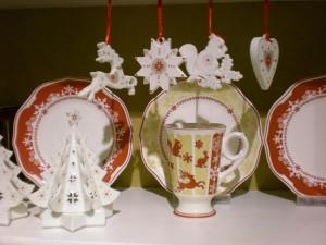 Villeroy and Boch,  dekoracje świąteczne, salon porcelany 30