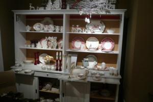 Villeroy and Boch,  dekoracje świąteczne, salon porcelany 32