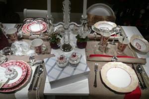 Villeroy and Boch, dekoracje świąteczne,  salon porcelany 34