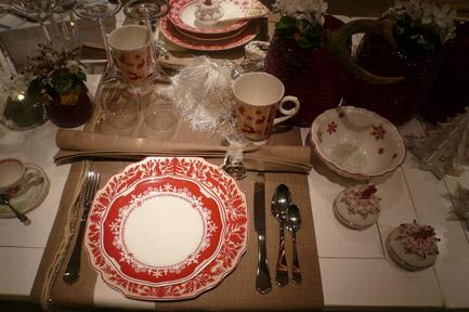 Villeroy and Boch, dekoracje świąteczne, salon porcelany 35