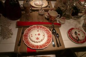 Villeroy and Boch, dekoracje świąteczne,  salon porcelany 36
