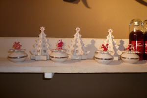 Villeroy and Boch, dekoracje świąteczne,  salon porcelany 37