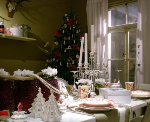 Villeroy and Boch, dekoracje świąteczne, salon porcelany 14