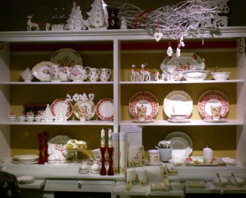 Villeroy and Boch, dekoracje świąteczne, salon porcelany 15