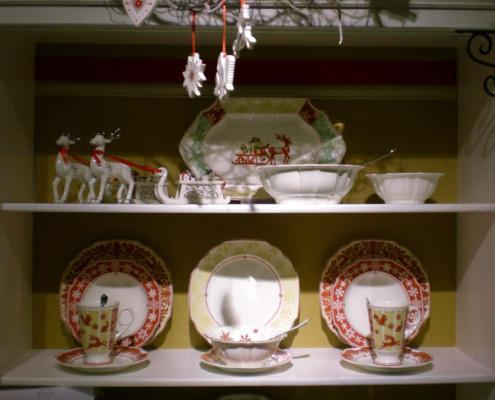 Villeroy and Boch, dekoracje świąteczne, salon porcelany 16
