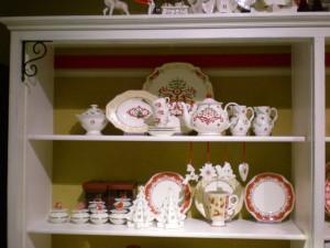 Villeroy and Boch, dekoracje świąteczne,  salon porcelany 17
