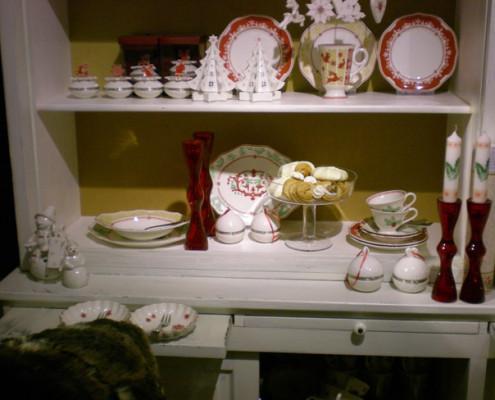 Villeroy and Boch, dekoracje świąteczne, salon porcelany 18