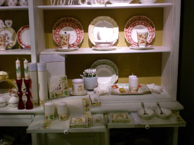 Villeroy and Boch, dekoracje świąteczne, salon porcelany 19
