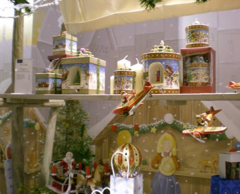 Villeroy and Boch, dekoracje świąteczne, salon porcelany 43