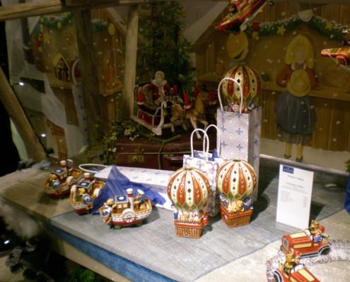 Villeroy and Boch, dekoracje świąteczne, salon porcelany 44