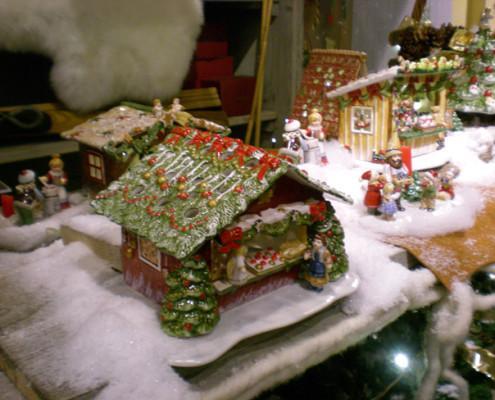 Villeroy and Boch, dekoracje świąteczne, salon porcelany 46