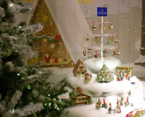 Villeroy and Boch, dekoracje świąteczne, salon porcelany 49
