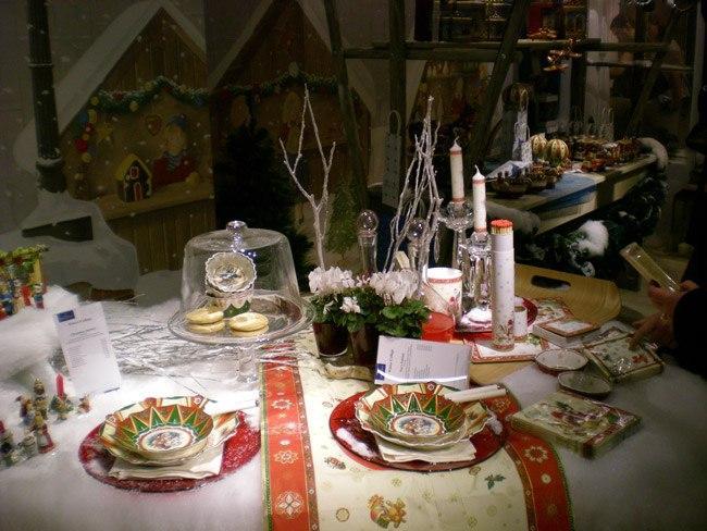 Villeroy and Boch, dekoracje świąteczne, salon porcelany 50