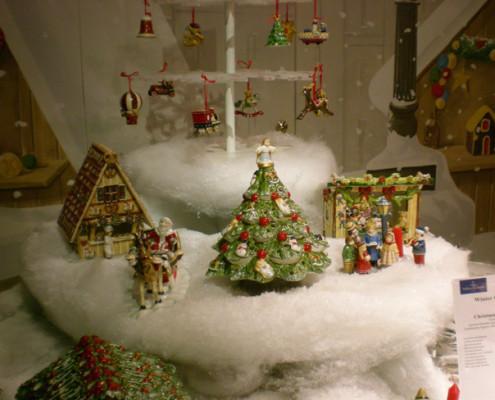 Villeroy and Boch, dekoracje świąteczne, salon porcelany 51