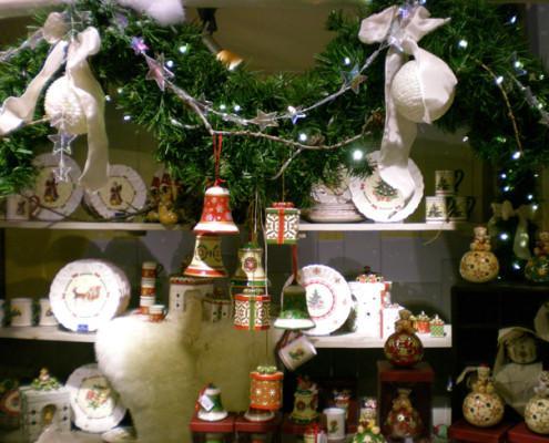 Villeroy and Boch, dekoracje świąteczne, salon porcelany 53