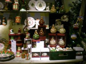 Villeroy and Boch, dekoracje świąteczne,  salon porcelany  54