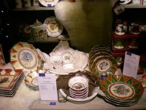Villeroy and Boch,  dekoracje świąteczne, salon porcelany  55
