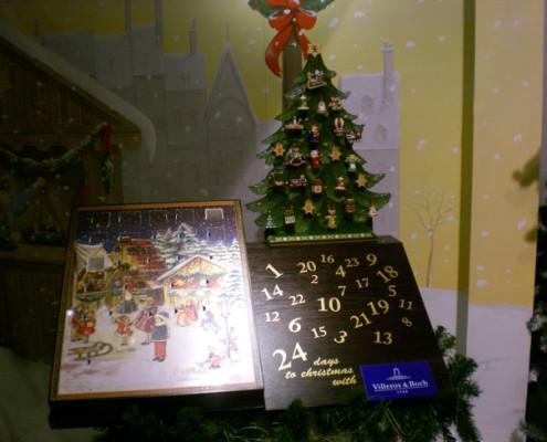 Villeroy and Boch, dekoracje świąteczne, salon porcelany 56