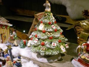 Villeroy and Boch,  dekoracje świąteczne, salon porcelany  58