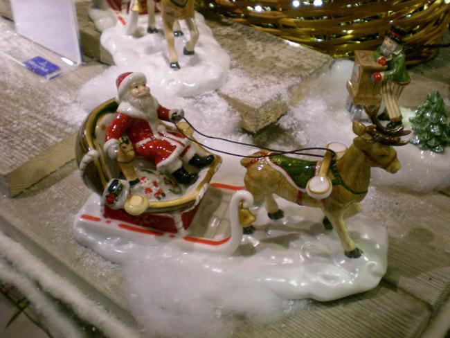 Villeroy and Boch, dekoracje świąteczne, salon porcelany 59