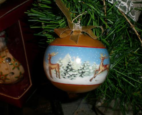 Villeroy and Boch, dekoracje świąteczne, salon porcelany 60
