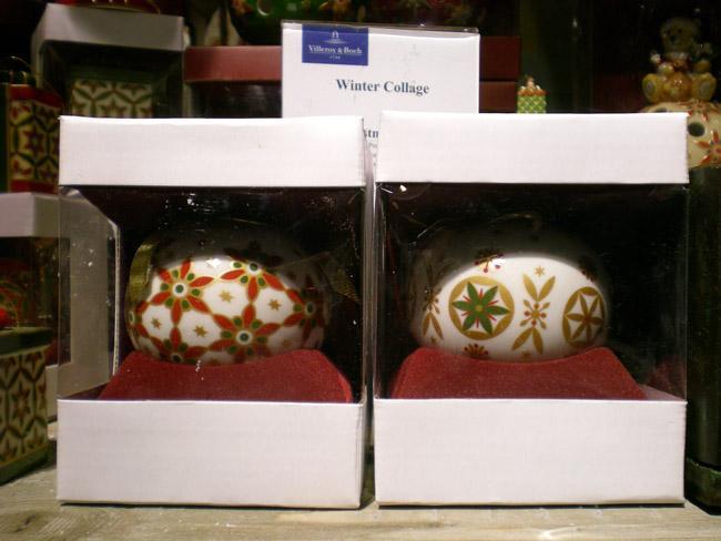 Villeroy and Boch, dekoracje świąteczne, salon porcelany 61