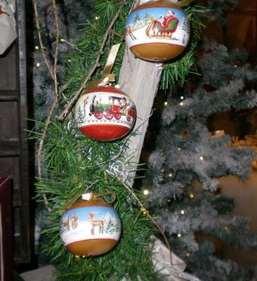 Villeroy and Boch, dekoracje świąteczne, salon porcelany 62
