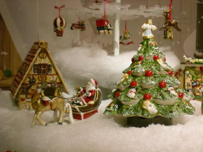 Villeroy and Boch, dekoracje świąteczne, salon porcelany 64