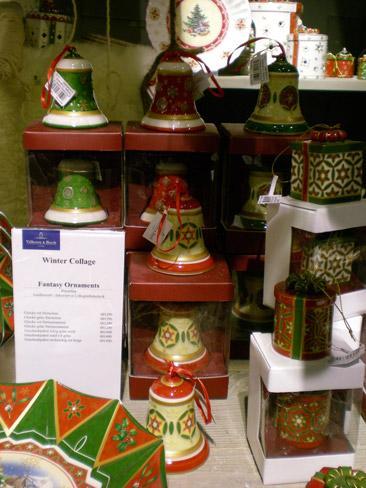 Villeroy and Boch, dekoracje świąteczne, salon porcelany 66