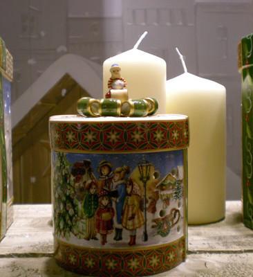 Villeroy and Boch, dekoracje świąteczne, salon porcelany 67