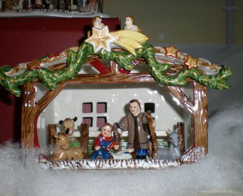 Villeroy and Boch, dekoracje świąteczne, salon porcelany 68