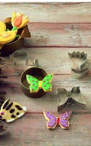Osterausstecher-Set Ostern und Frühling, salon porcelany