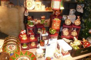 Villeroy and Boch,  dekoracje świąteczne, salon porcelany  74
