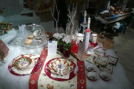 Villeroy and Boch, dekoracje świąteczne, salon porcelany 75