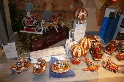 Villeroy and Boch, dekoracje świąteczne, salon porcelany 78