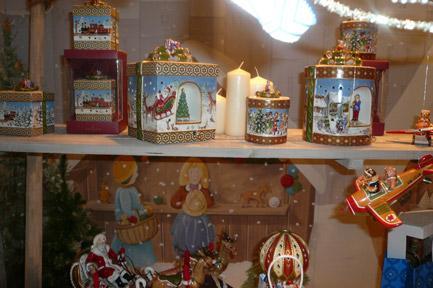 Villeroy and Boch, dekoracje świąteczne, salon porcelany 81