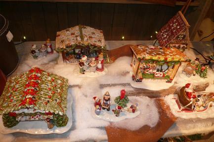 Villeroy and Boch, dekoracje świąteczne, salon porcelany 83